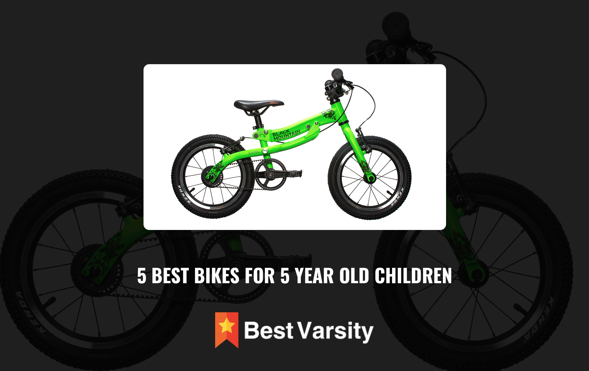 5 Best Bikes for 5 Year Old Children
